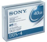 Sony 4mm DDS-4 150m DATA CARTRIDGE